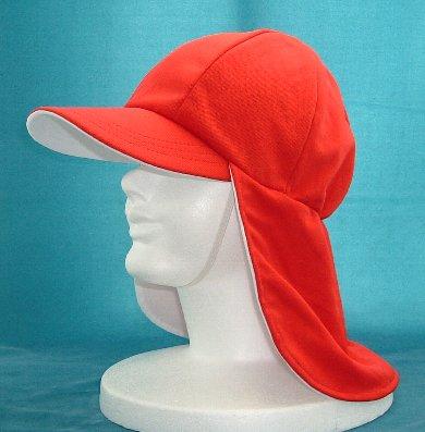 赤白帽子、紅白帽子、UV対策帽子...